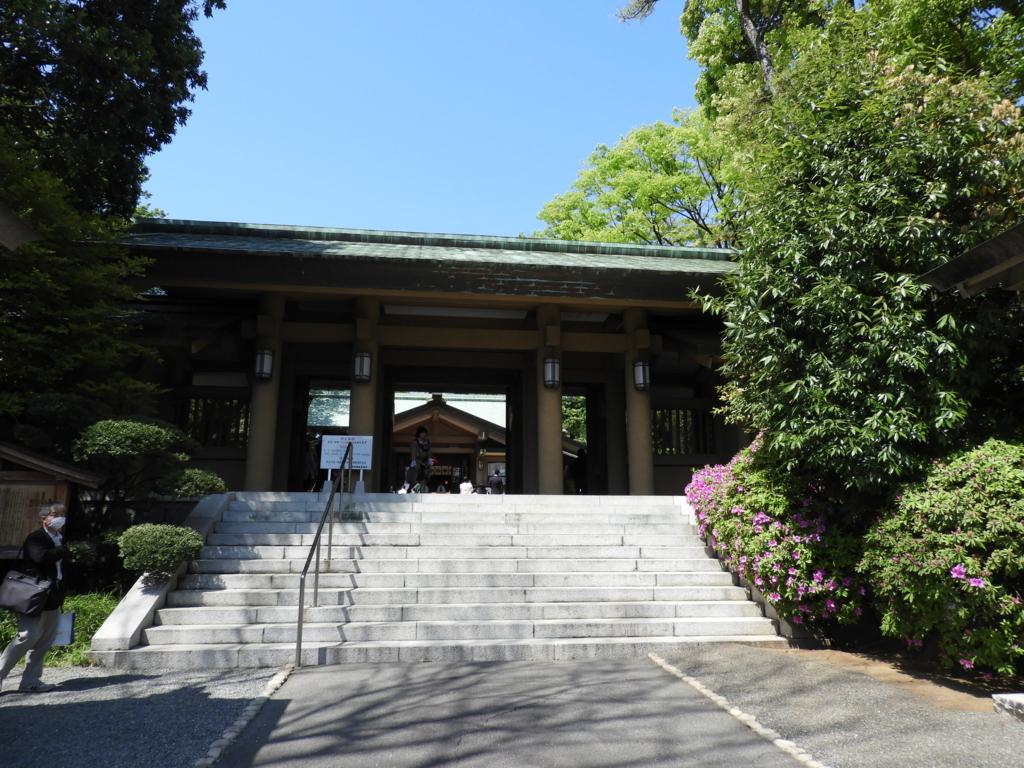 東郷神社の神門