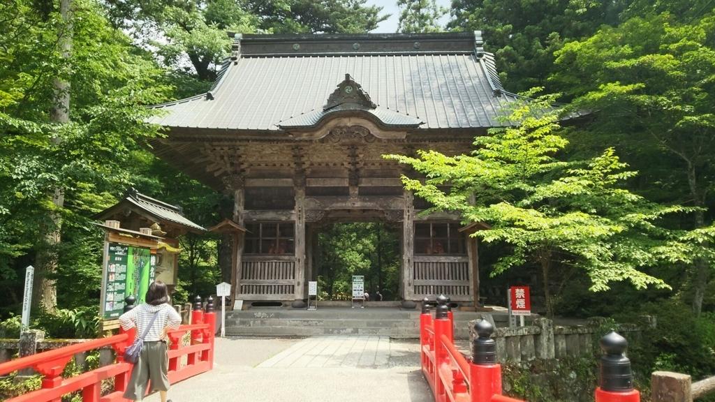 榛名神社の隋神門
