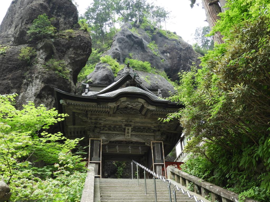 榛名神社の双竜門