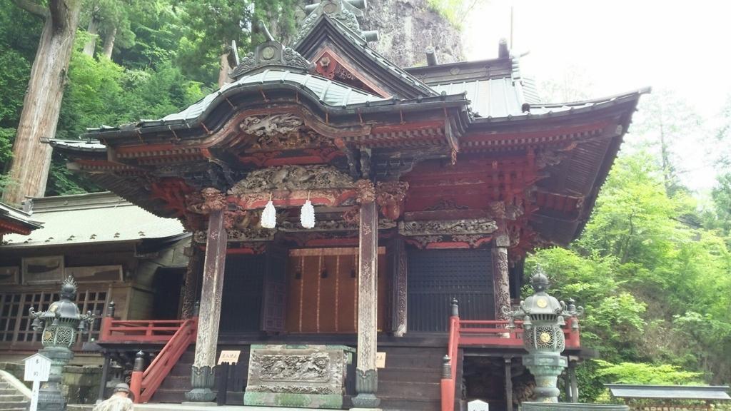 榛名神社の拝殿