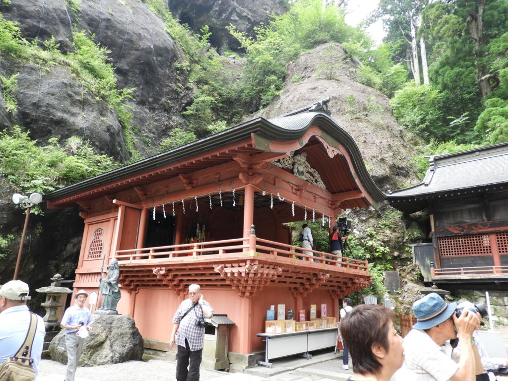 榛名神社の神楽殿