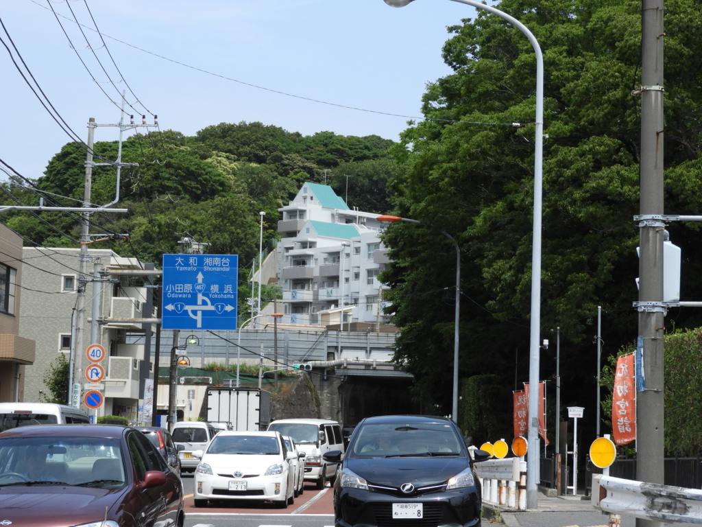 国道467号線が藤沢バイパスと交差する交通の要所に位置する白旗神社