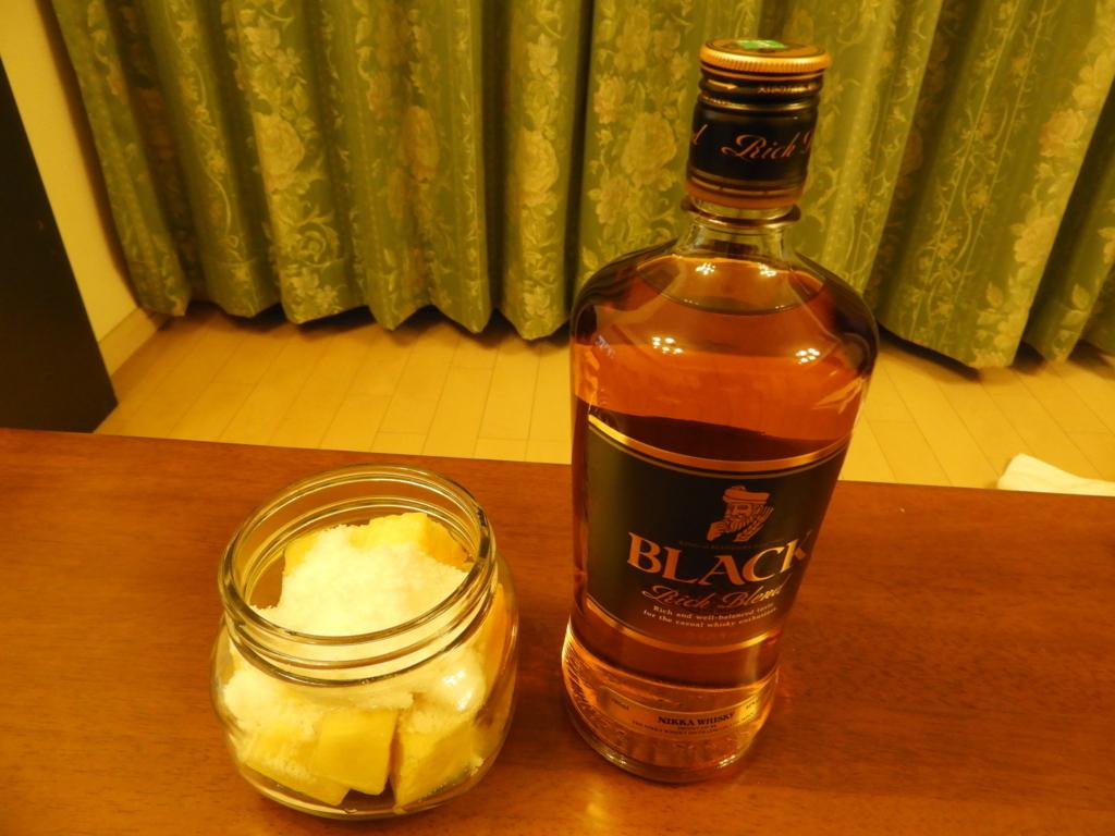 パイナップルと砂糖