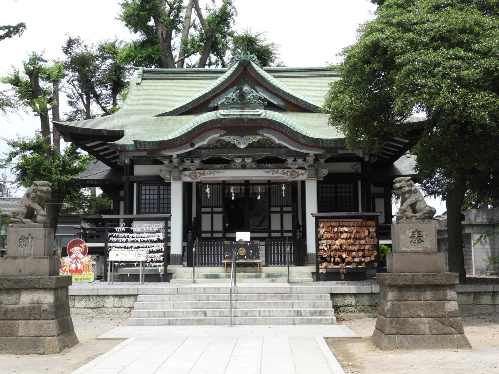 亀有香取神社の社殿