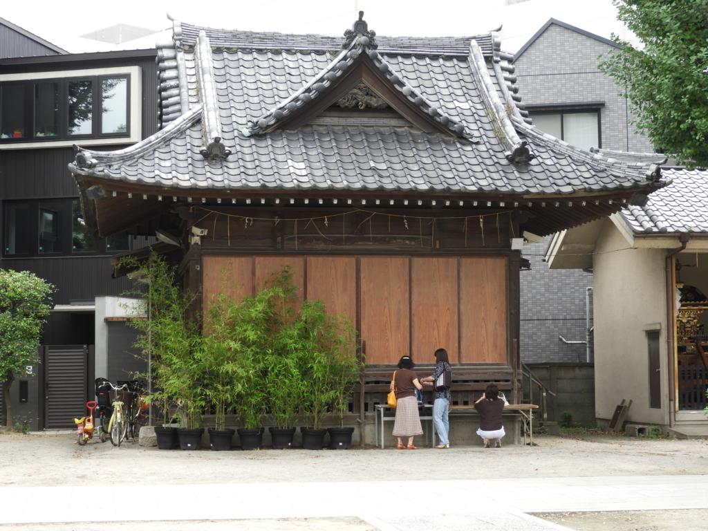 亀有香取神社の神楽殿