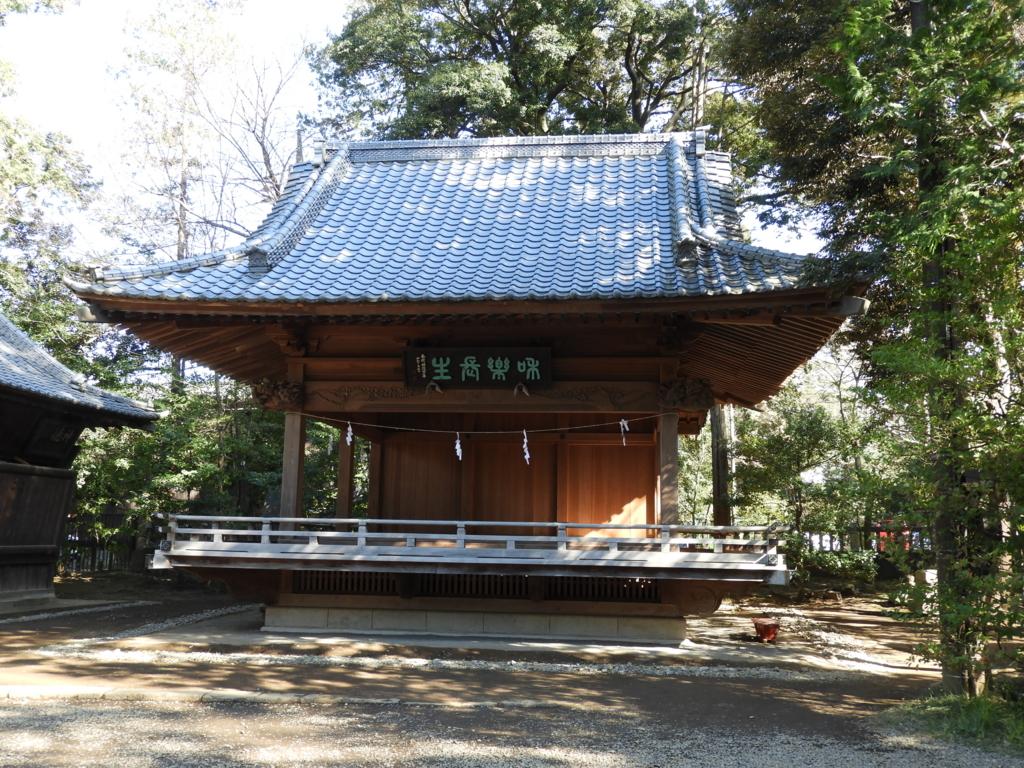 武蔵一宮氷川神社の神楽殿