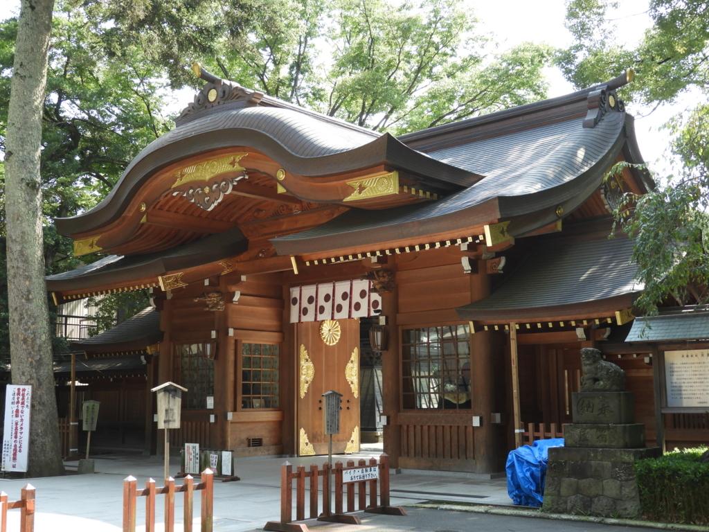 大國魂神社の隋神門