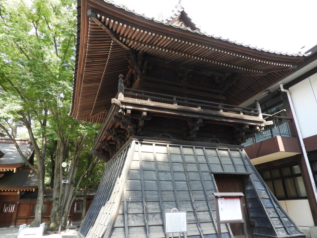 大國魂神社の鼓楼