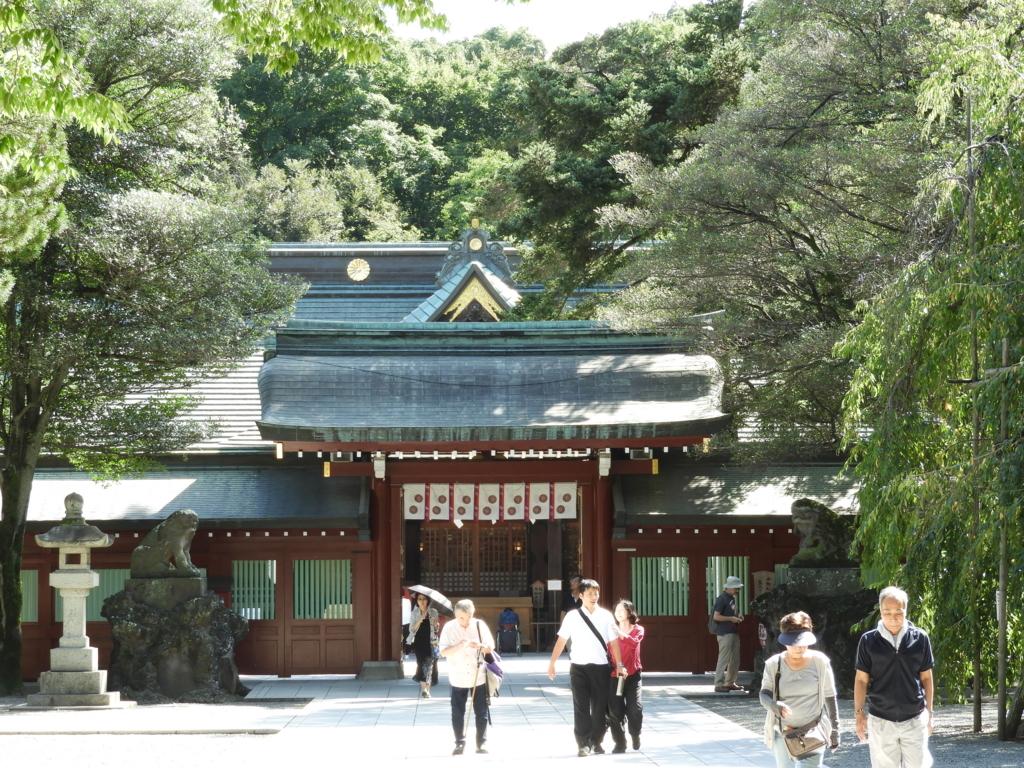 大國魂神社の中雀門