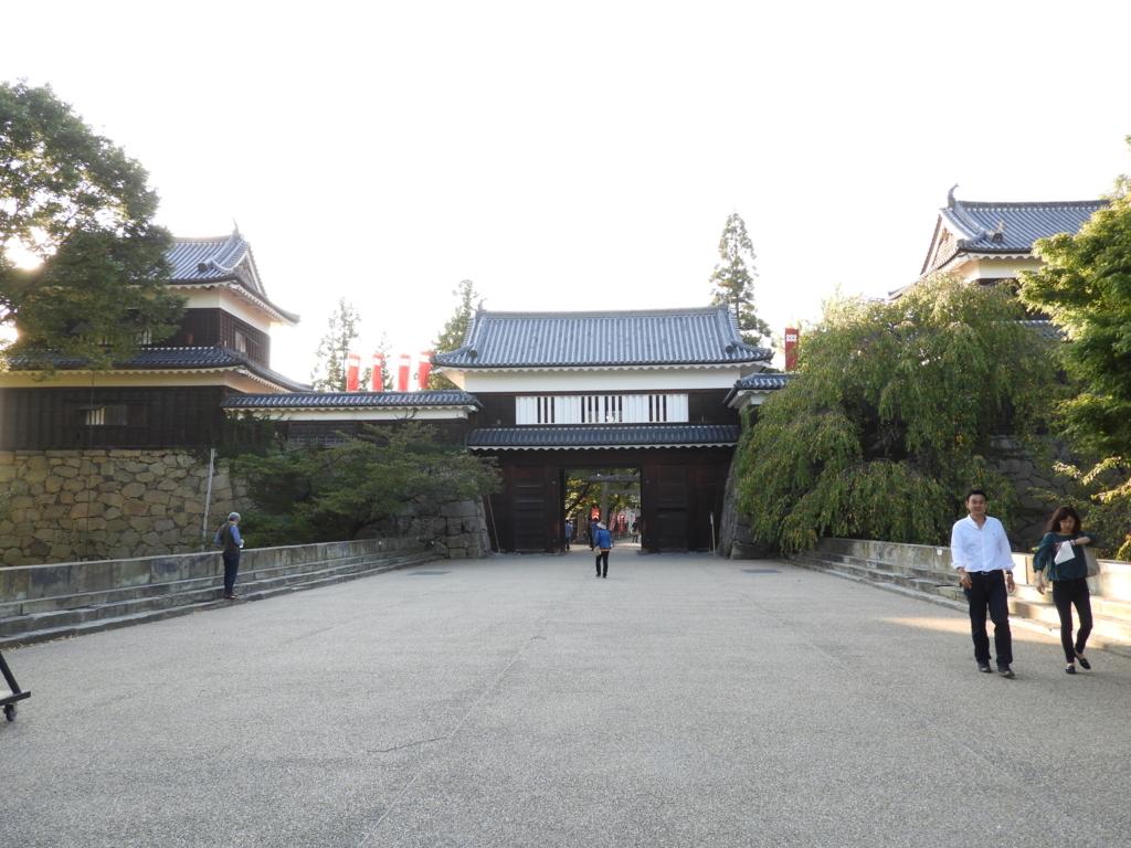 上田城址の東虎口櫓門