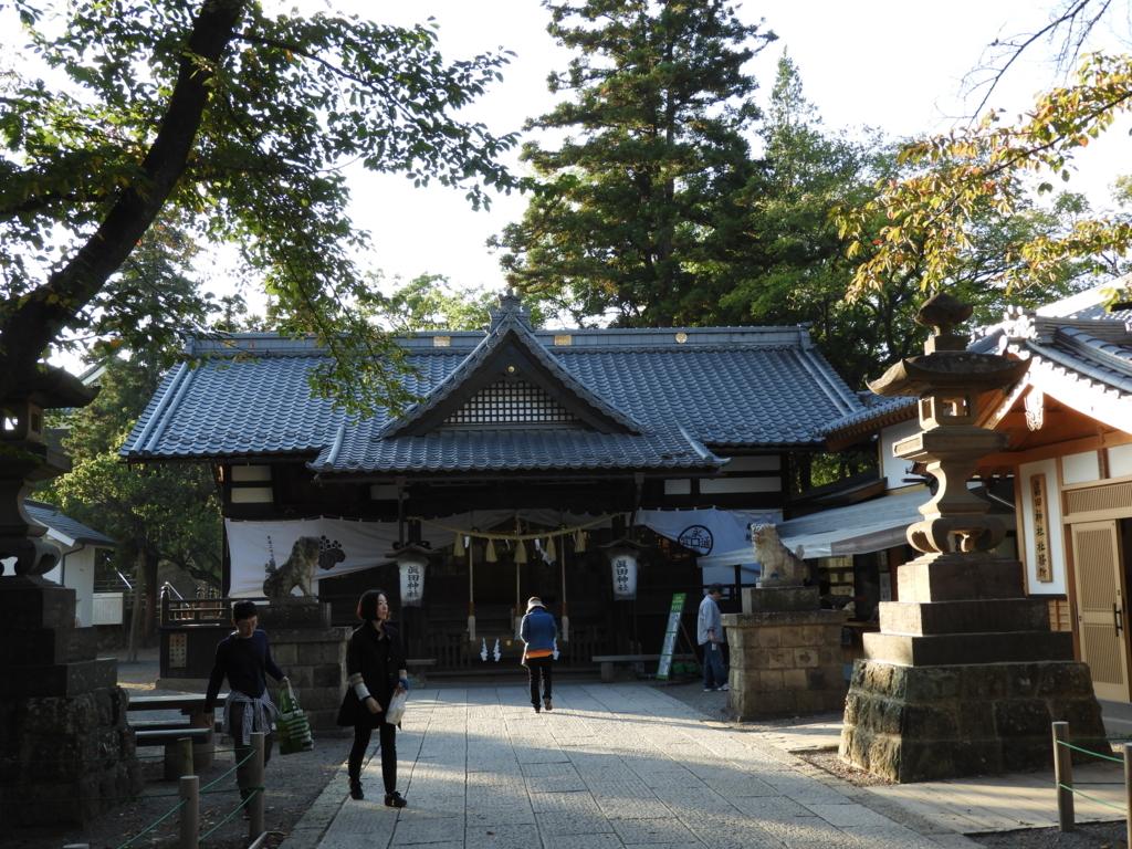 眞田神社の拝殿