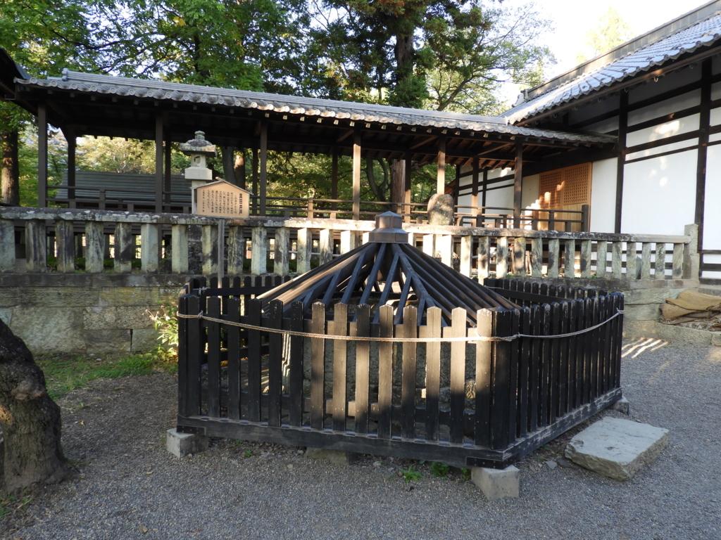 場外まで通じている眞田神社の真田井戸