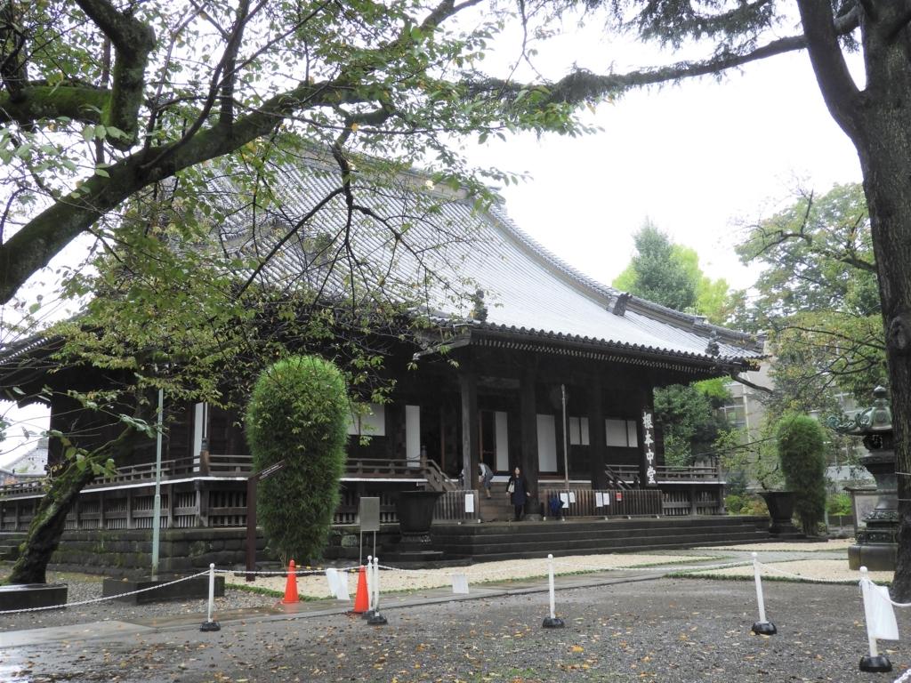 寛永寺の根本中道