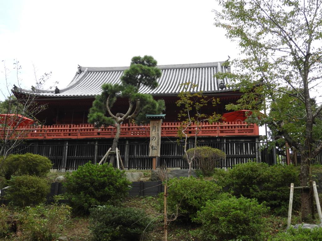天海大僧正が比叡山になぞらえて創建した清水観音堂