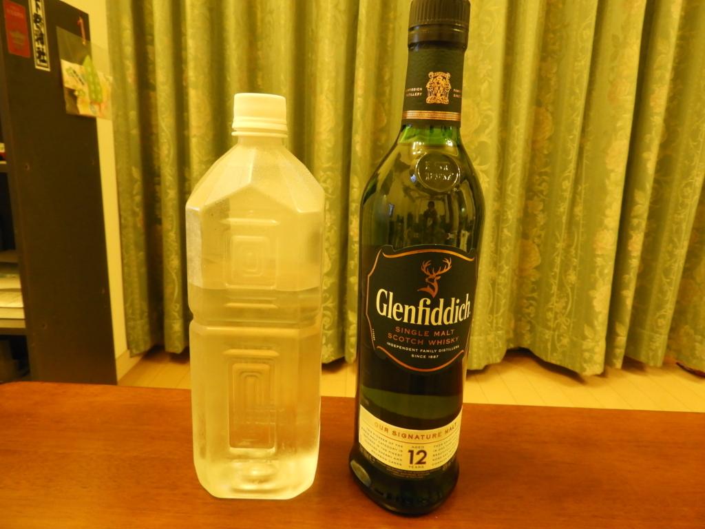 グレンフィディックと二荒霊泉