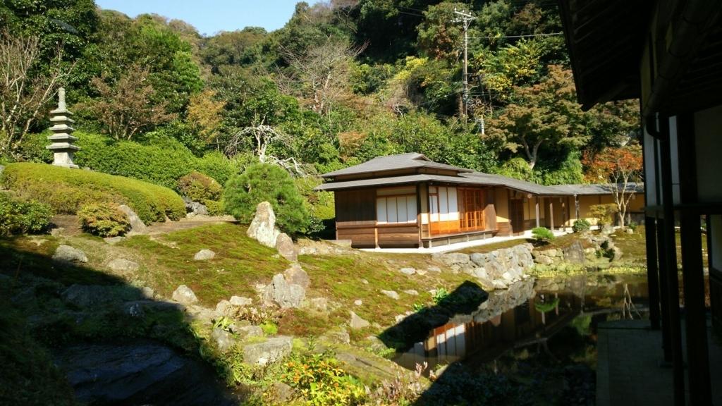 本堂の裏手にある最大の穴場の海蔵寺庭園