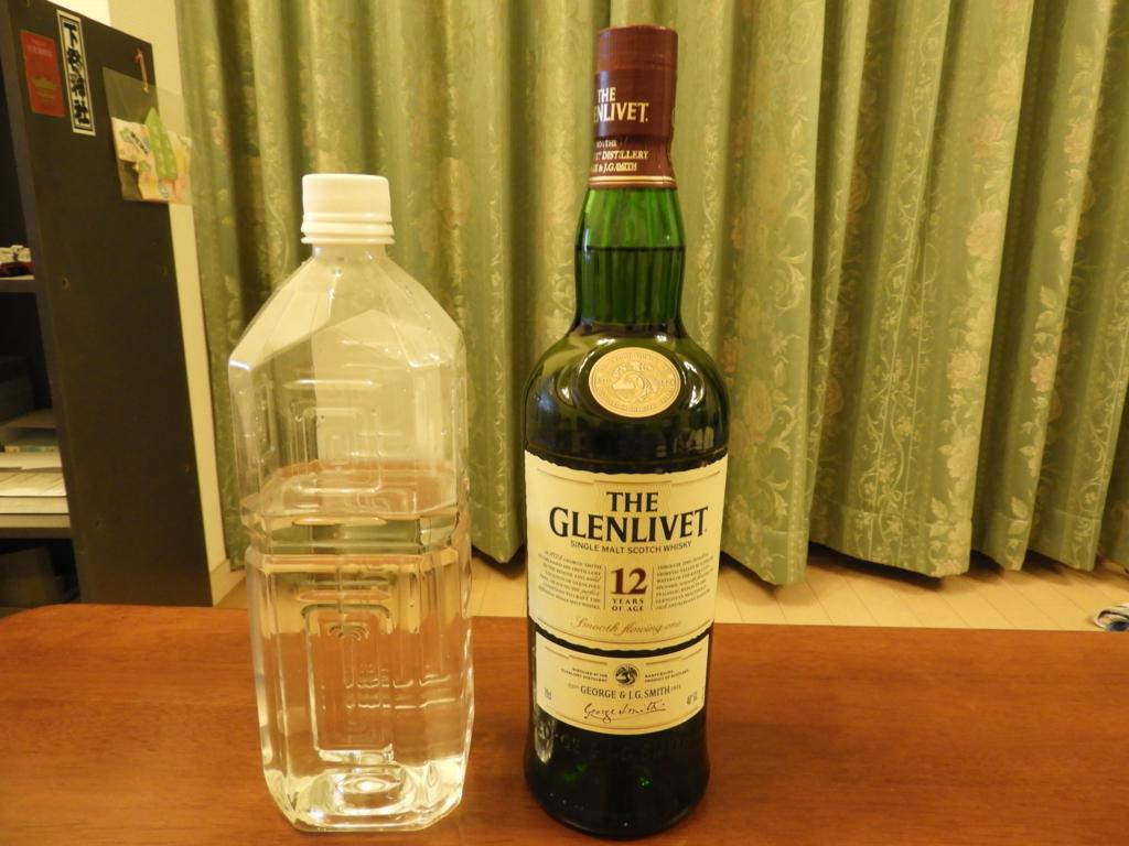 ザ・グレンリベットと二荒霊泉の水