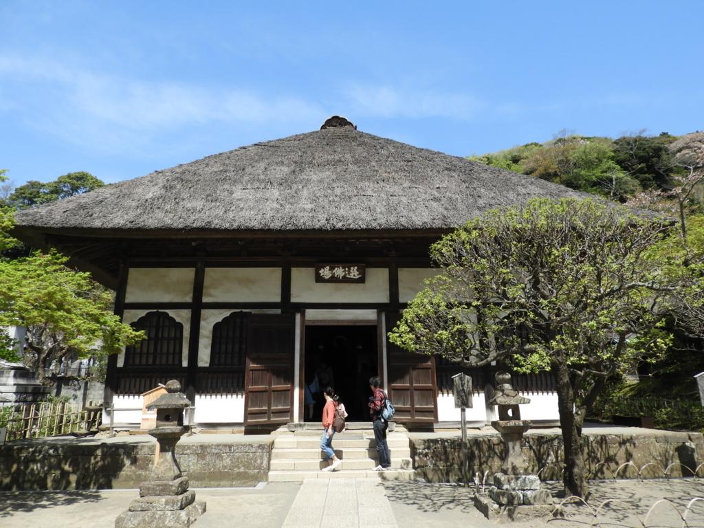 座禅道場として使用されている円覚寺の選佛場