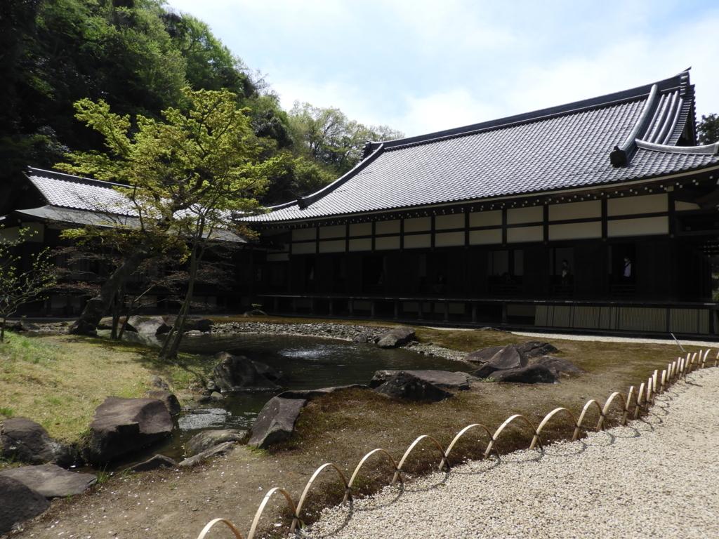 イベントホールのような役割を果たしている円覚寺の方丈