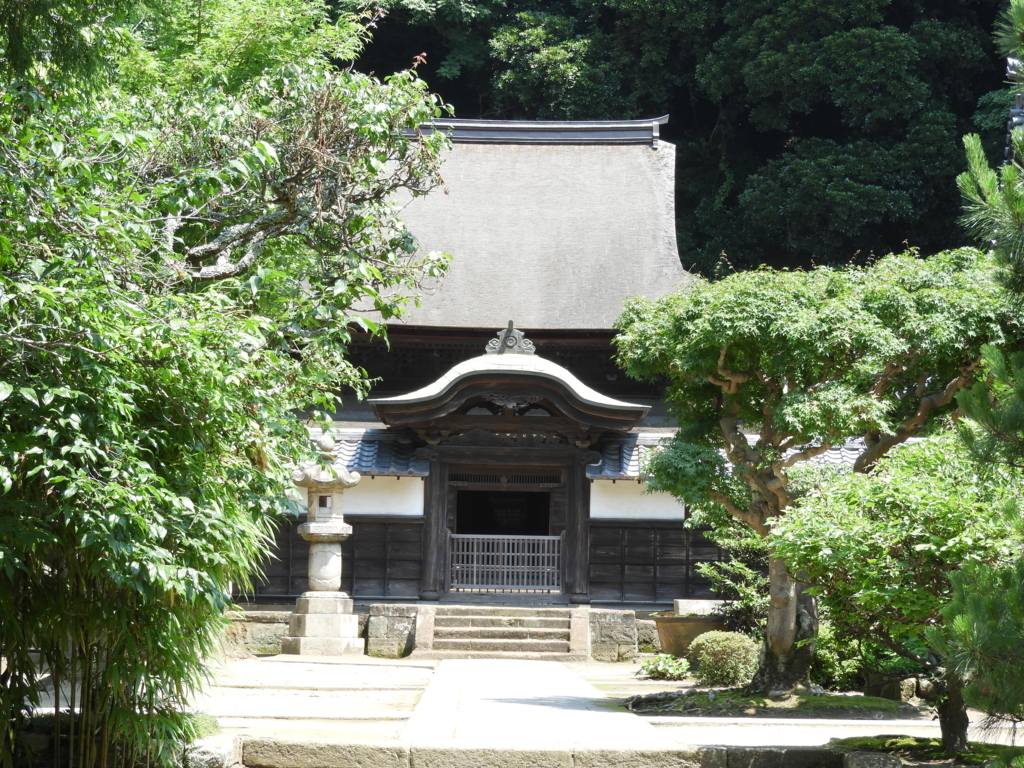 神奈川県で唯一の国宝建造物である円覚寺の舎利殿