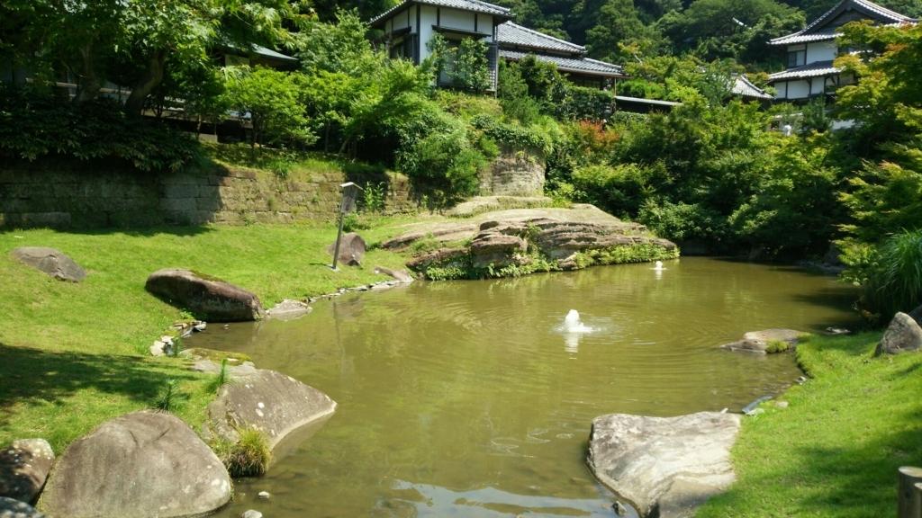 創建当初からのものである円覚寺の妙香池