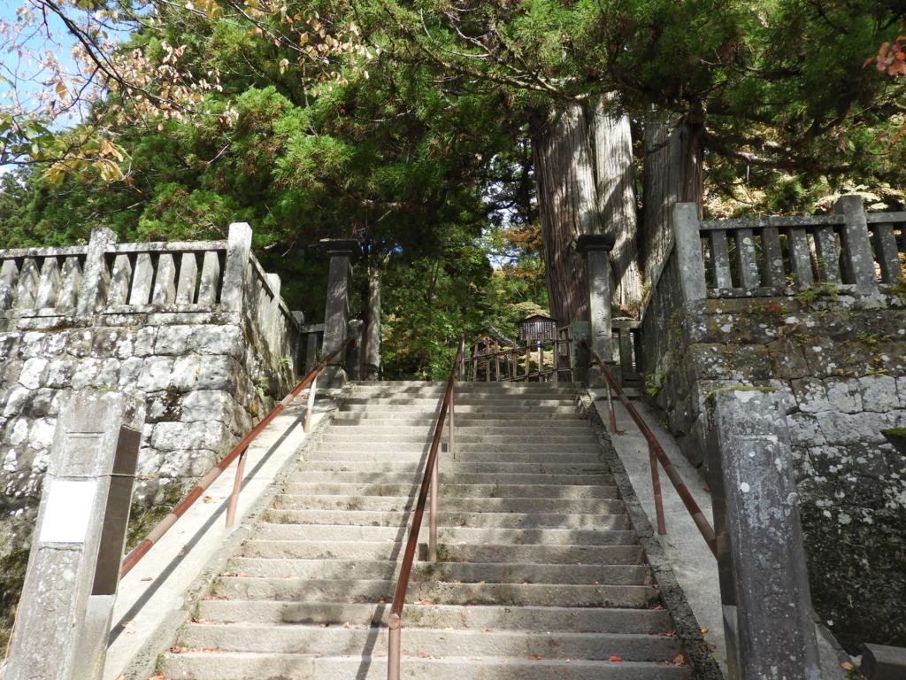 戸隠神社中社の三本杉の内の「い」の杉