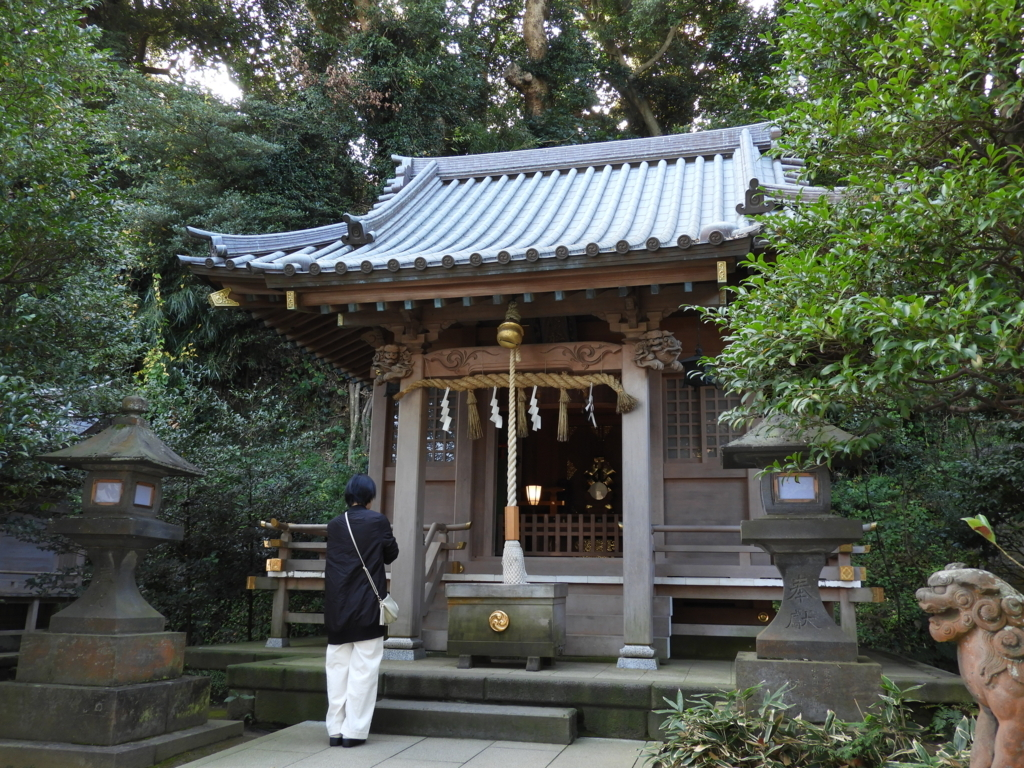 江島神社の八坂神社