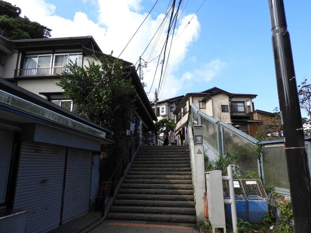 奥津宮への上り階段