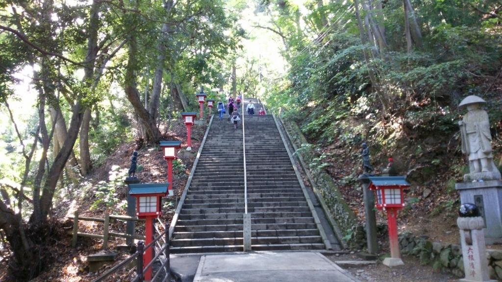 男坂の石段