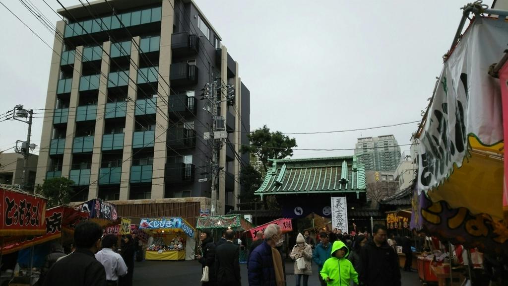 泉岳寺の中門