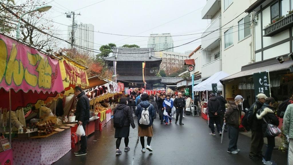 泉岳寺の参道