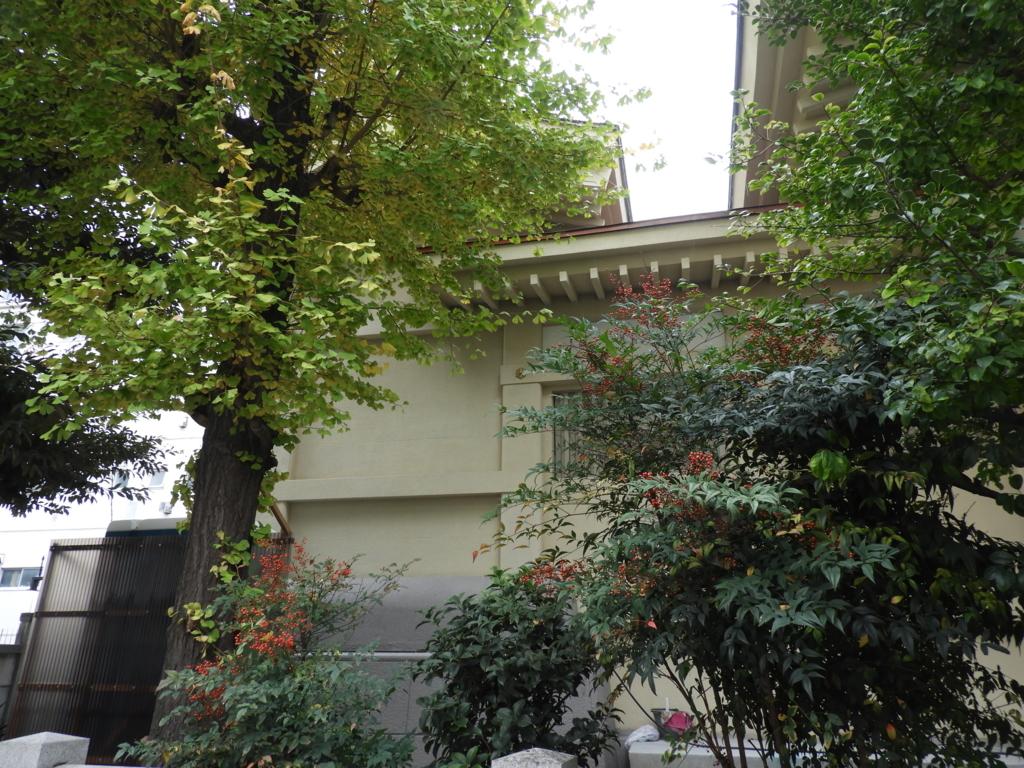 矢先稲荷神社の本殿