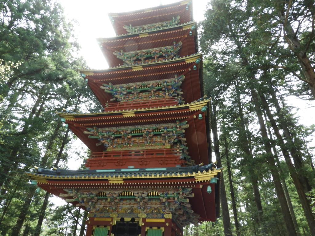 東照宮の五重塔
