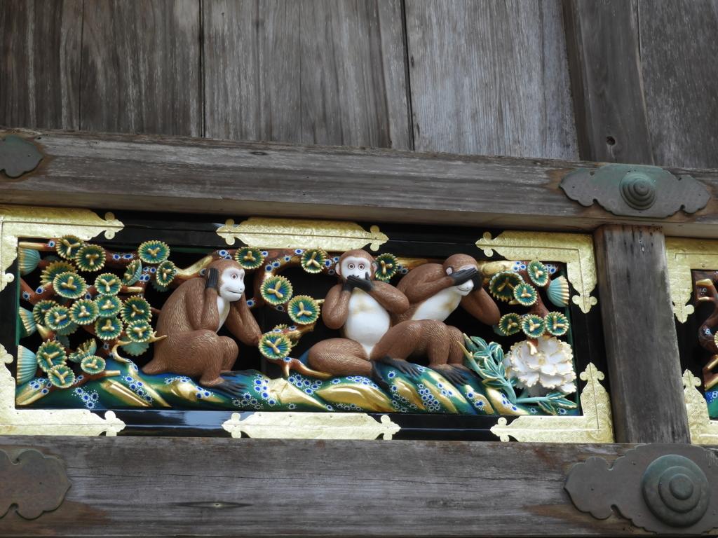 有名な三猿