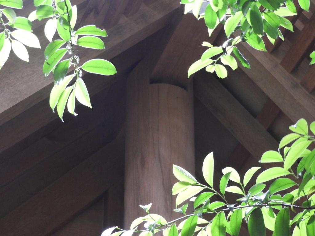柱と梁の間の隙間