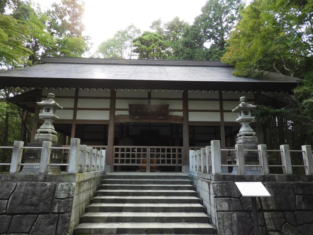 秩父御嶽神社の本殿