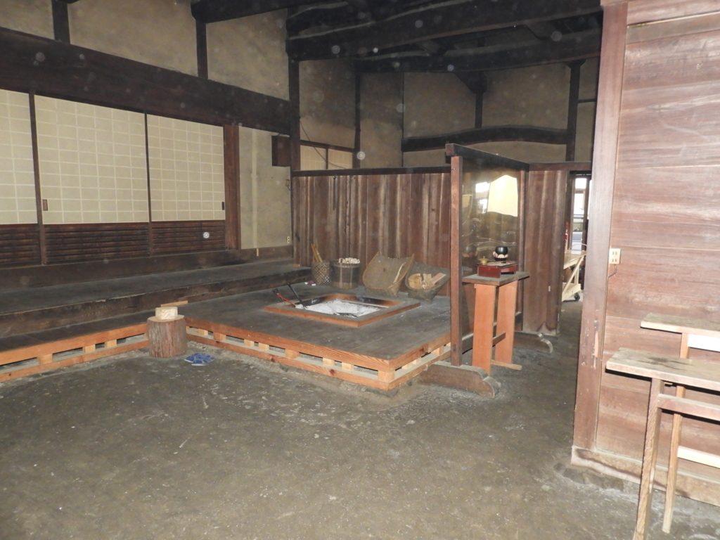 深大寺本坊旧庫裡の台所