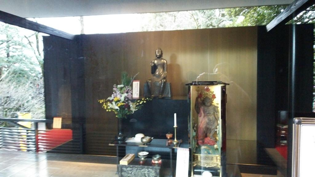 まだ重要文化財だった時代の深大寺の白鳳仏
