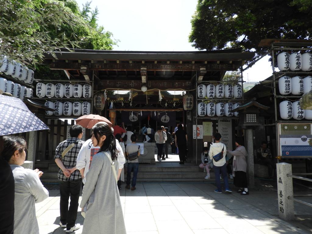下谷神社の門