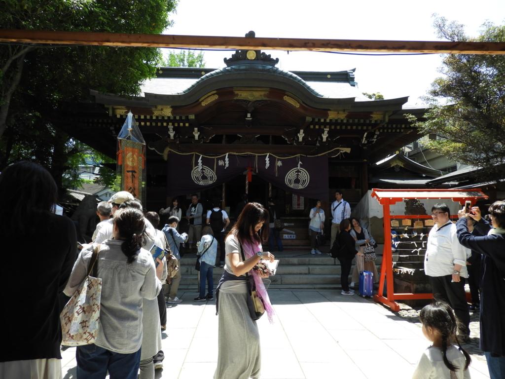 下谷神社の社殿