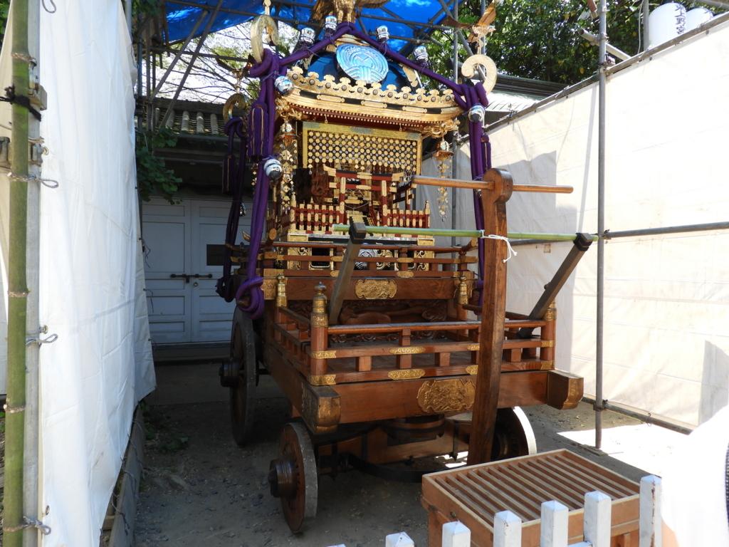下谷神社の神輿