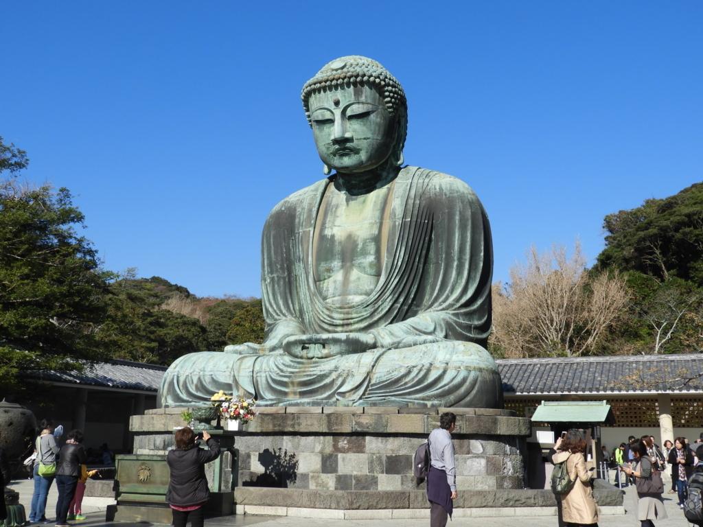 鎌倉のシンボルである鎌倉大仏