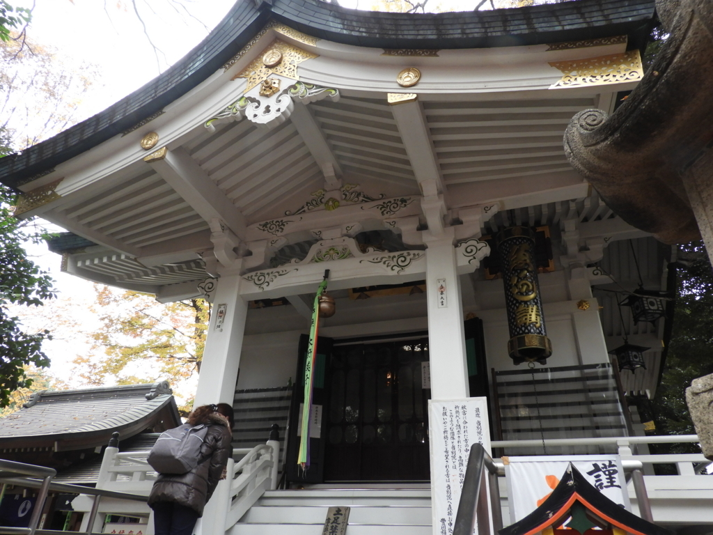 豊川稲荷東京別院の奥の院