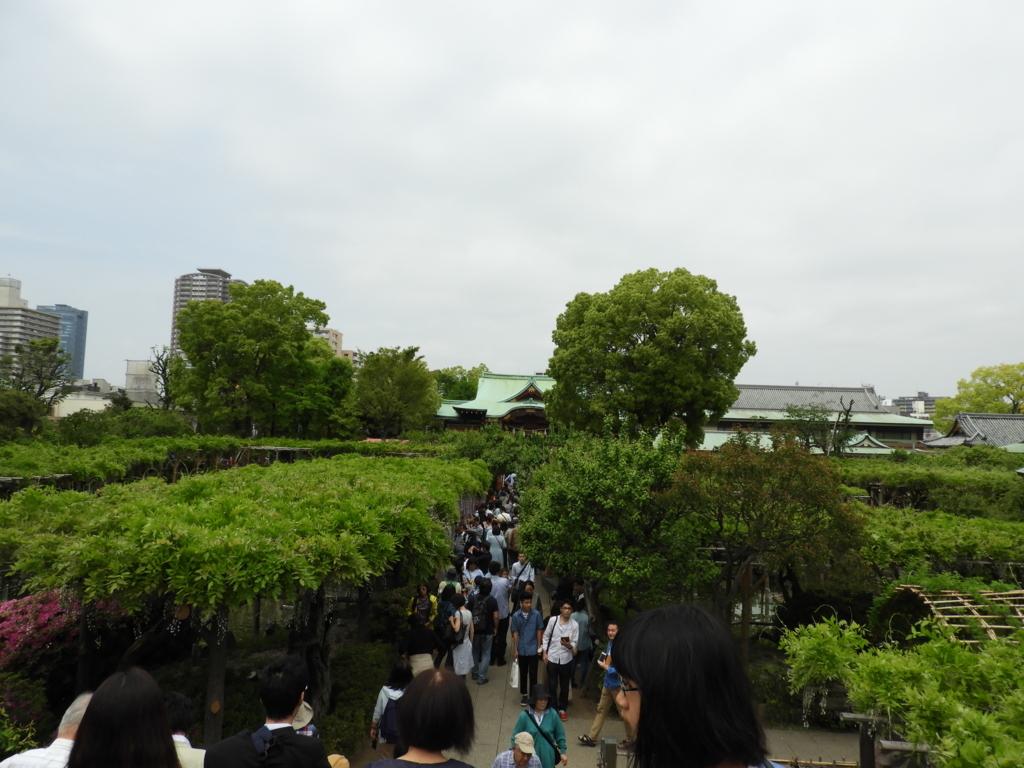 男橋の上から見た平橋