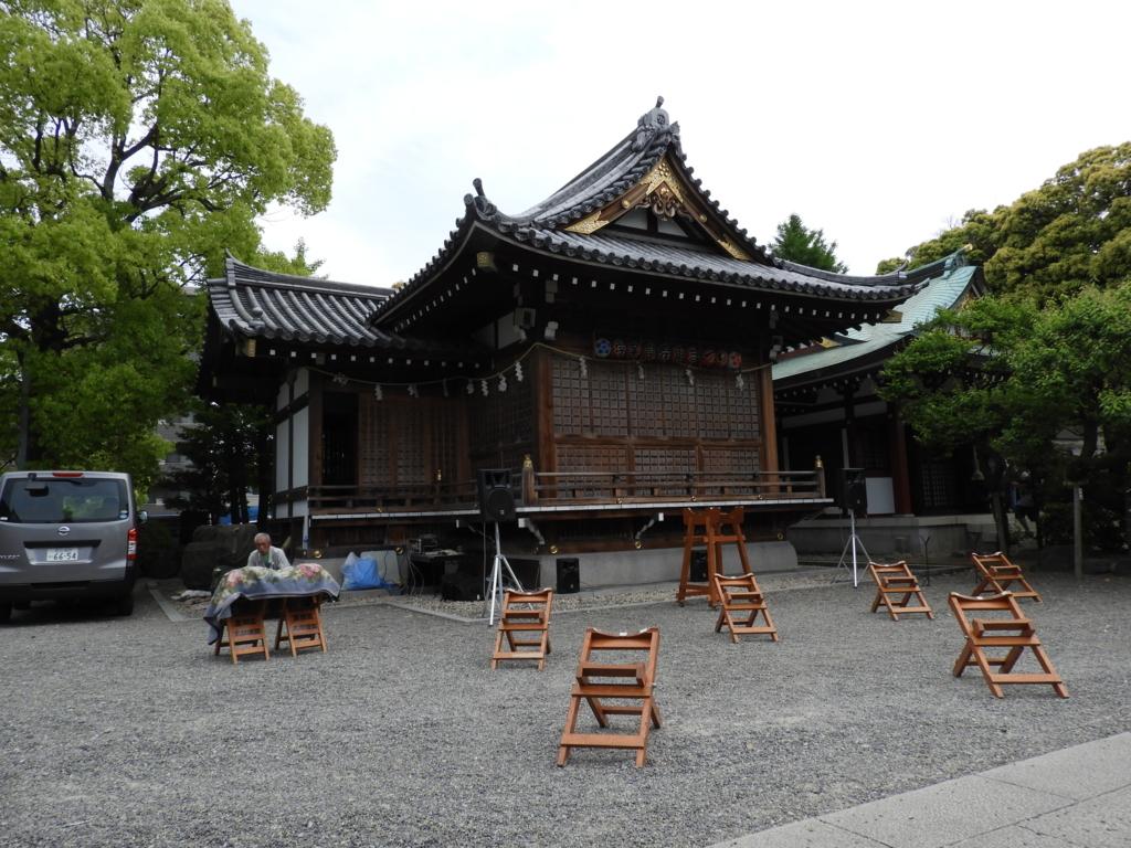 亀戸天神社の神楽殿