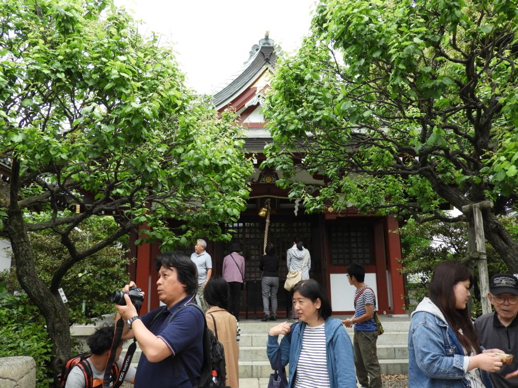亀戸天神社の境内社である御嶽神社