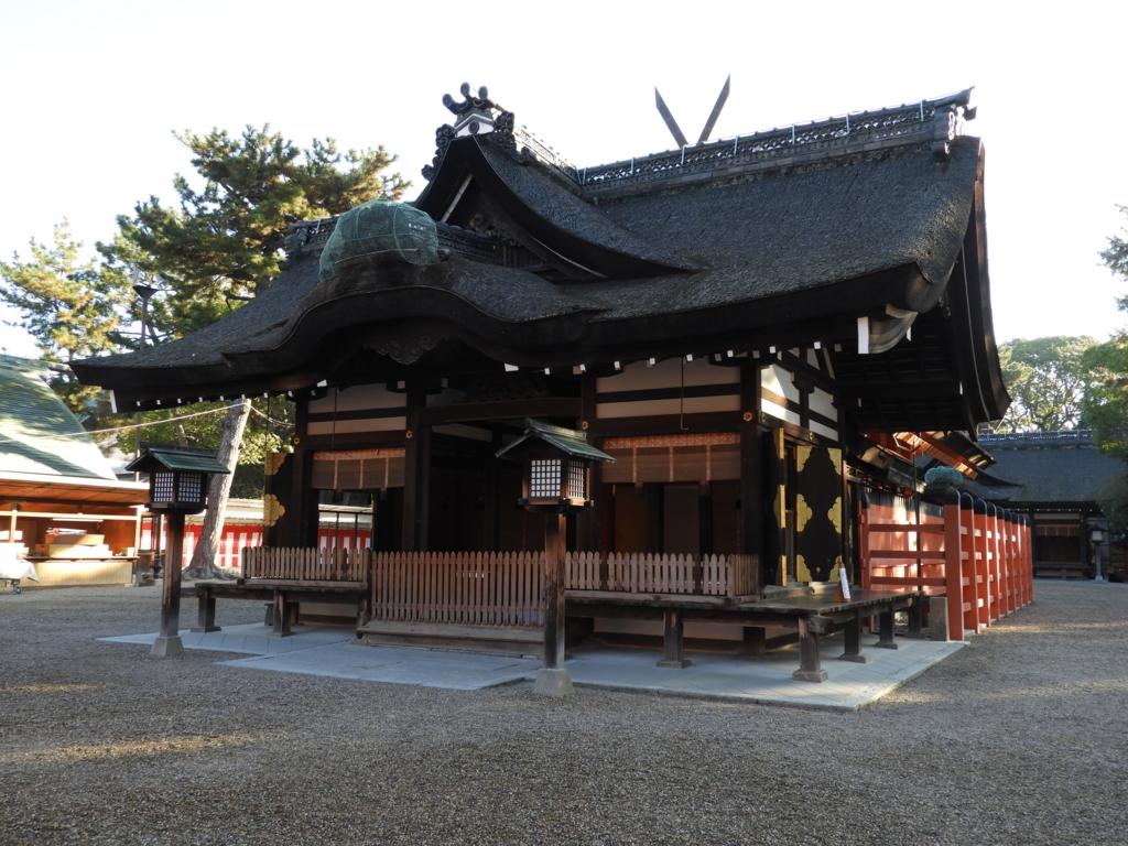 第二本宮の拝殿