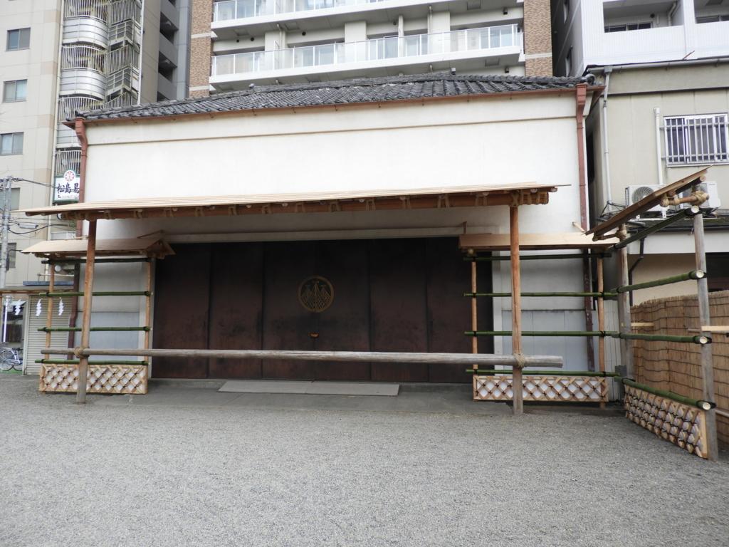 浅草神社の神輿庫