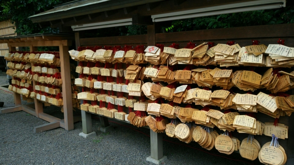 乃木神社の絵馬