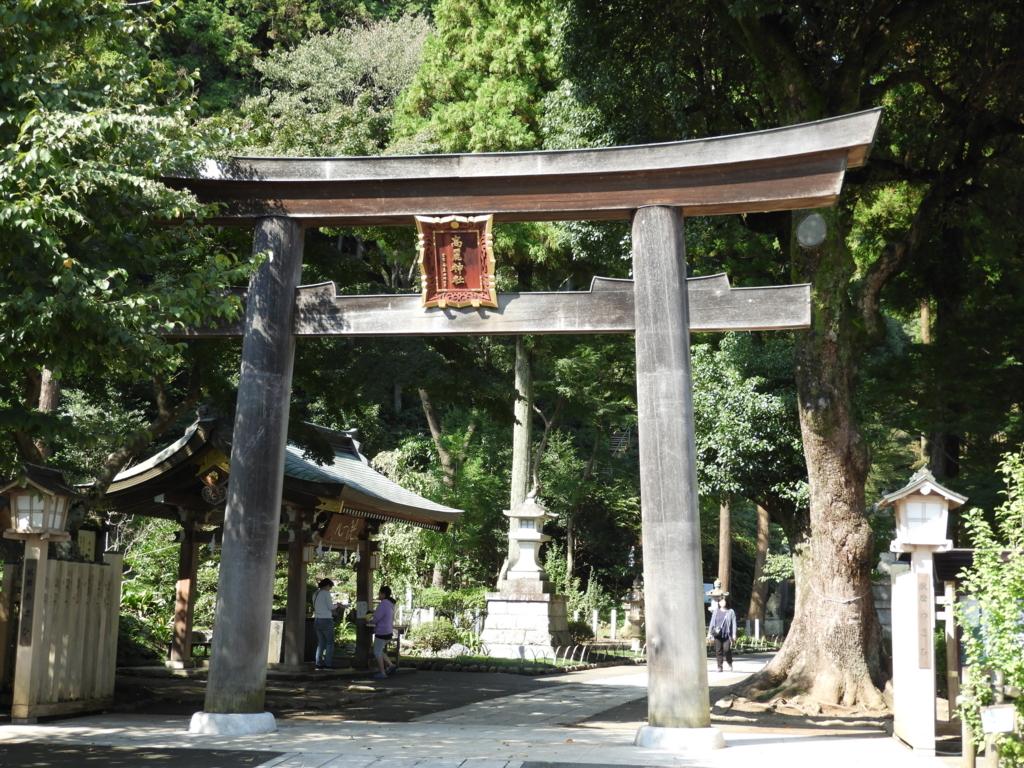 高麗神社の二の鳥居